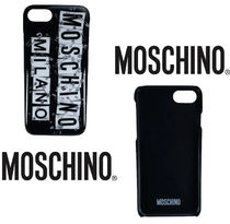Moschino iPhone 8 iPhone 8 Plus Smart Phone Cases