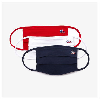 Unisex Street Style Plain Cotton Logo Accessories