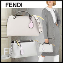 FENDI BY THE WAY Street Style 2WAY Plain Crossbody Logo Boston & Duffles