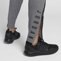 Nike Tapered Pants Unisex Sweat Street Style Plain Cotton Co-ord