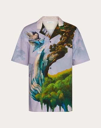 Tropical Patterns Street Style Other Animal Patterns Cotton