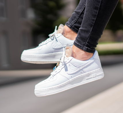 Casual Style Street Style Plain Leather Low-Top Sneakers