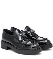PRADA Casual Style Leather Party Style Office Style Formal Style