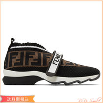 FENDI FOREVER Logo Low-Top Sneakers