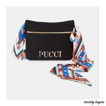 Emilio Pucci Casual Style Nylon Blended Fabrics 2WAY 3WAY Party Style