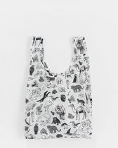 BAGGU Casual Style Nylon Street Style A4 Totes