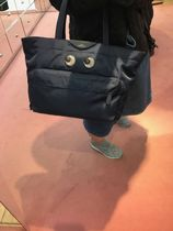 Anya Hindmarch Casual Style Nylon Street Style A4 2WAY Leather Office Style