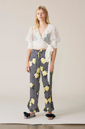 Other Plaid Patterns Printed Pants Flower Patterns