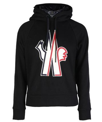 MONCLER Hoodies Street Style Long Sleeves Cotton Hoodies 2