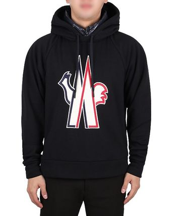 MONCLER Hoodies Street Style Long Sleeves Cotton Hoodies 3