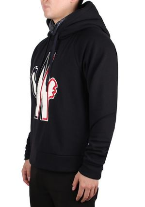 MONCLER Hoodies Street Style Long Sleeves Cotton Hoodies 4