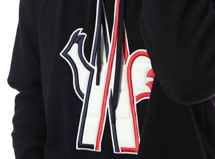 MONCLER Hoodies Street Style Long Sleeves Cotton Hoodies 13