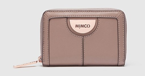 shop mimco wallets & card holders