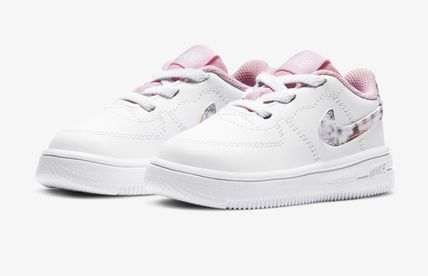 Nike AIR FORCE 1 Street Style Baby Girl Shoes