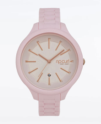 ROXY Casual Style Silicon Round Analog Watches