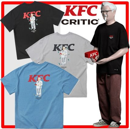 CRITIC More T-Shirts Unisex Street Style Cotton Short Sleeves T-Shirts