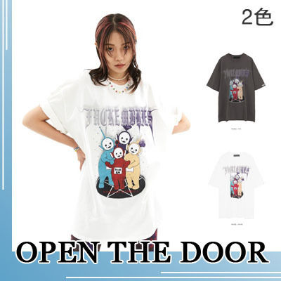 OPEN THE DOOR More T-Shirts Unisex Cotton Short Sleeves T-Shirts