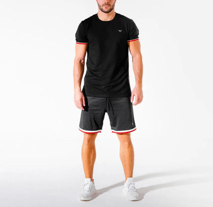 SQUAT WOLF Tops Street Style Activewear Tops 3