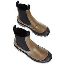 LOEWE Rubber Sole Casual Style Street Style Plain Leather
