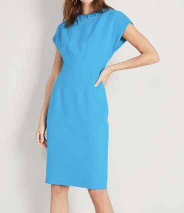 Medium Short Sleeves Elegant Style Dresses