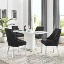 Studded Co-ord Vervet Furniture Table & Chair