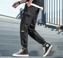 Street Style Oversized Cropped Pants