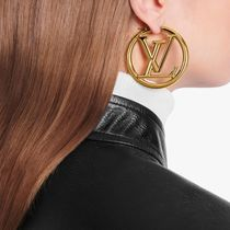 Louis Vuitton LOUISE Costume Jewelry Casual Style Unisex Street Style Party Style