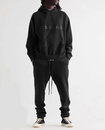 FEAR OF GOD ESSENTIALS Unisex Street Style Logo Pants