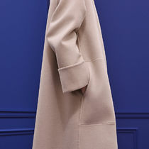 HERMES Casual Style Cashmere Plain Office Style Elegant Style