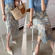 Pencil Skirts Lace Skirts