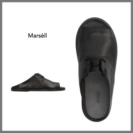 marsell More Sandals Plain Leather Sandals