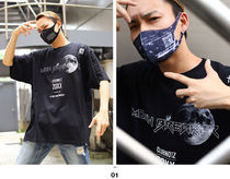 More T-Shirts Crew Neck Pullovers Unisex Street Style Cotton Short Sleeves 6