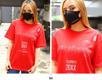 More T-Shirts Crew Neck Pullovers Unisex Street Style Cotton Short Sleeves 9