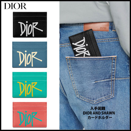 Christian Dior Logo Card Holders