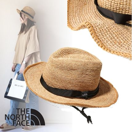 THE NORTH FACE Unisex Street Style Straw Hats