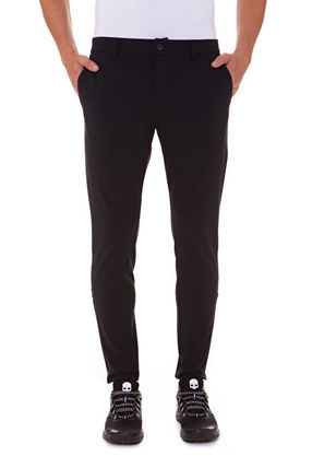 Skull Nylon Plain Pants
