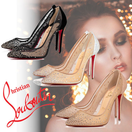 Christian Louboutin Casual Style Leather Pin Heels Party Style Office Style