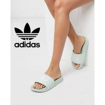 adidas Open Toe Casual Style Street Style Shower Shoes Flip Flops
