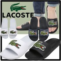 LACOSTE Street Style Shower Shoes Shower Sandals