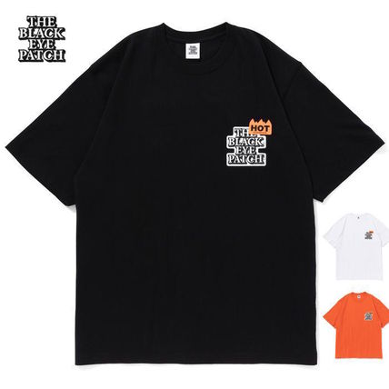 BlackEyePatch More T-Shirts Unisex Street Style Cotton Short Sleeves Skater Style