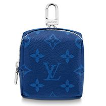 Louis Vuitton MONOGRAM Box Pouch Bag Charm And Belt Charm