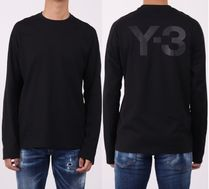 Y-3 Street Style Collaboration Long Sleeves Long Sleeve T-shirt