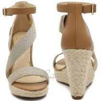 Jessica Simpson Open Toe Casual Style Street Style Plain Strap Sandals