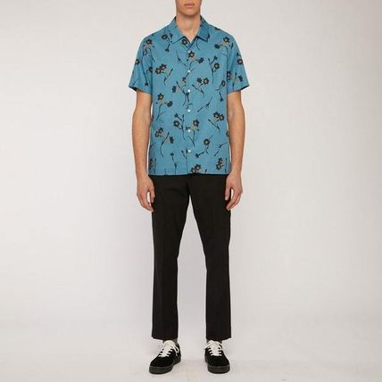 Paul Smith Shirts Street Style Short Sleeves Front Button Shirts 2