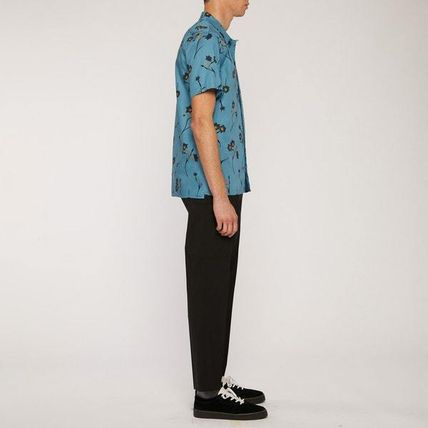 Paul Smith Shirts Street Style Short Sleeves Front Button Shirts 3