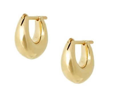 Casual Style 14K Gold Earrings