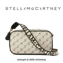 Stella McCartney Monogram Casual Style Canvas Vanity Bags Party Style
