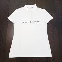 Tommy Hilfiger Street Style Medium Short Sleeves Logo Polos