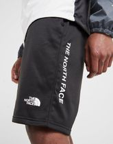 THE NORTH FACE Street Style Bi-color Logo Joggers Shorts