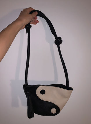 Casual Style 3WAY Leather Crossbody Shoulder Bags